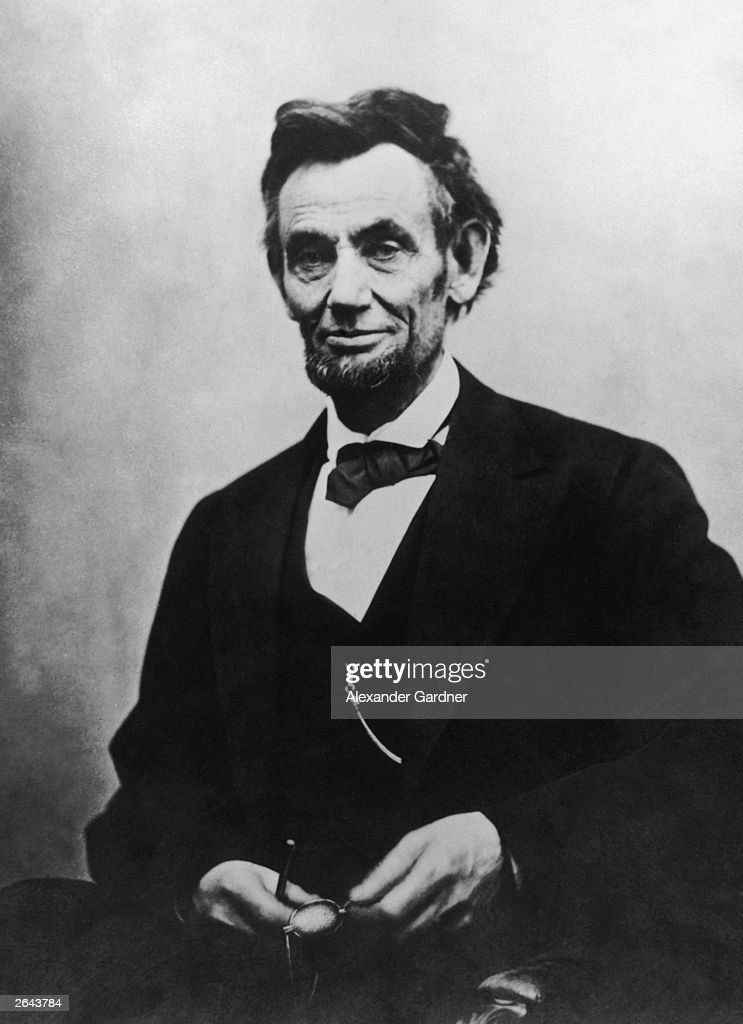 <a gi-track='captionPersonalityLinkClicked' href=/galleries/search?phrase=Abraham+Lincoln&family=editorial&specificpeople=67201 ng-click='$event.stopPropagation()'>Abraham Lincoln</a> (1809 - 1865), the 16th President of the United States of America.
