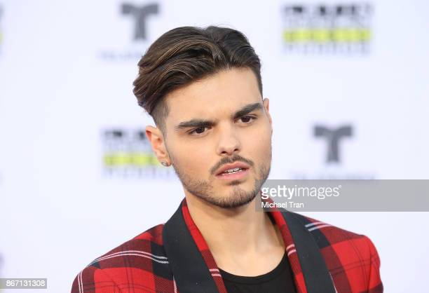 Abraham Mateo arrives at the 2017 Latin American Music Awards held at Dolby Theatre on October 26 2017 in Hollywood California