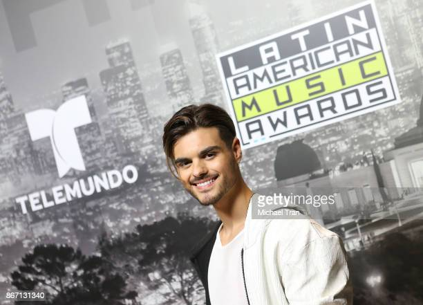 Abraham Mateo attends the 2017 Latin American Music Awards press room held at Dolby Theatre on October 26 2017 in Hollywood California