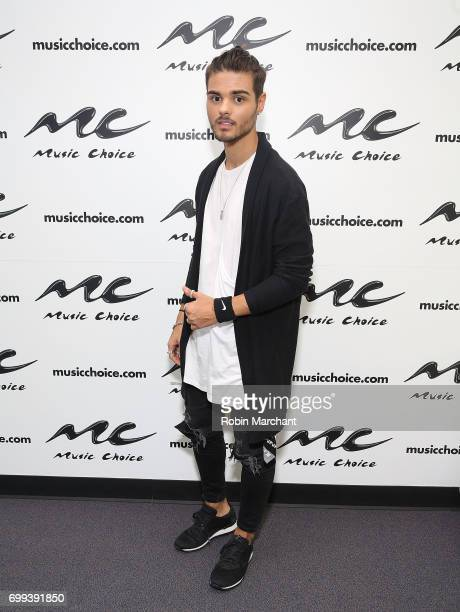 Abraham Mateo visits at Music Choice on June 21 2017 in New York City