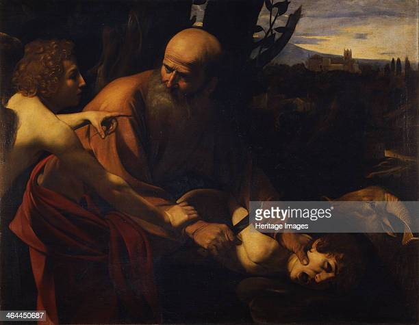 Abraham Sacrificing Isaac 16031604 Found in the collection of the Galleria degli Uffizi Florence
