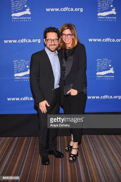 J Abrams and Katie McGrath attend the Children's Defense FundCalifornia's 27th Annual Beat The Odds Awards at the Beverly Wilshire Four Seasons Hotel...