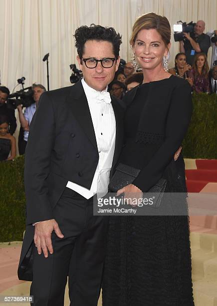 J Abrams and Katie McGrath attend the 'Manus x Machina Fashion In An Age Of Technology' Costume Institute Gala at Metropolitan Museum of Art on May 2...