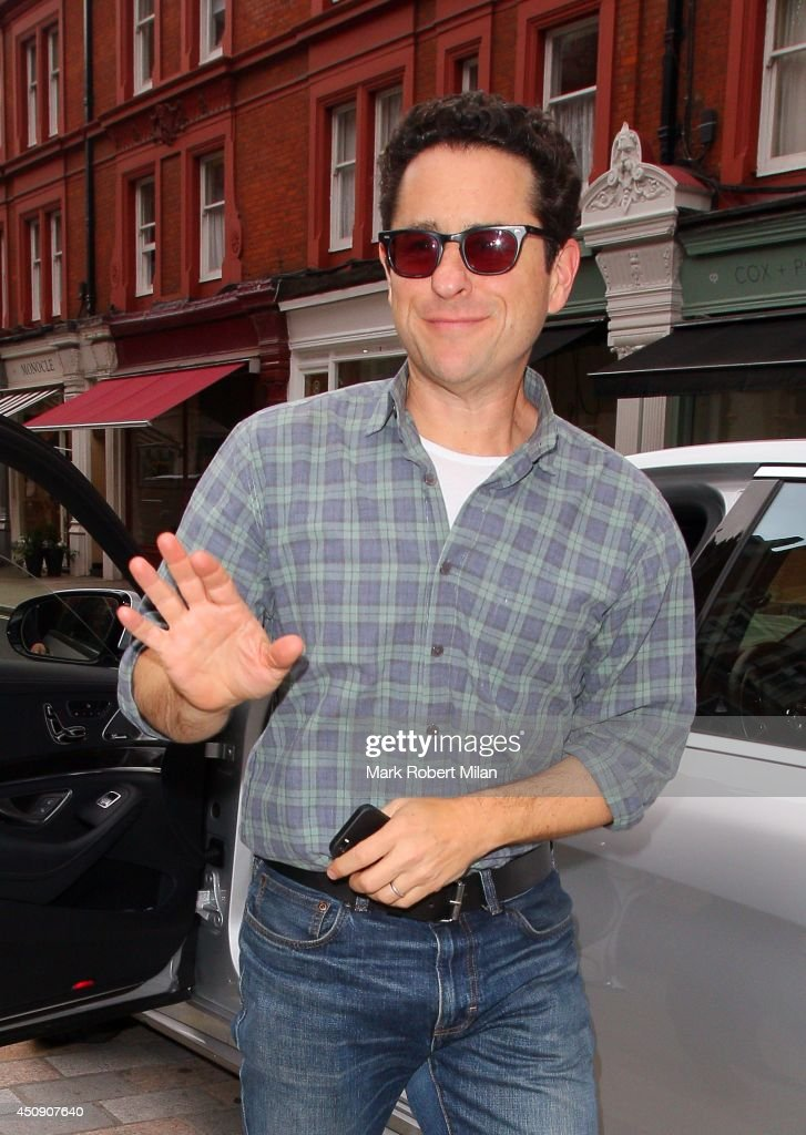 <a gi-track='captionPersonalityLinkClicked' href=/galleries/search?phrase=J.J.+Abrams&family=editorial&specificpeople=253632 ng-click='$event.stopPropagation()'>J.J. Abrams</a> at the Chiltern Firehouse on June 19, 2014 in London, England.