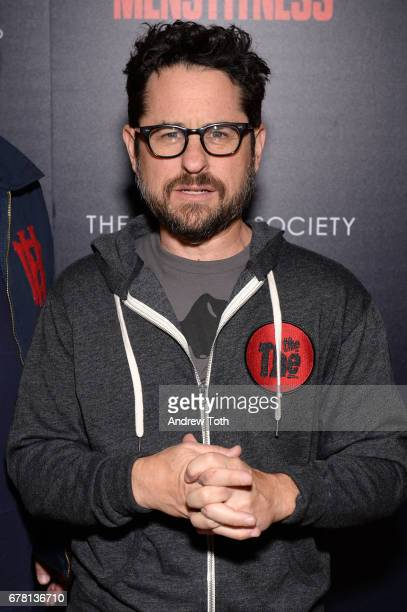 J Abrams attends a screening of Marvel Studios' 'Guardians of the Galaxy Vol 2' hosted by The Cinema Society at the Whitby Hotel on May 3 2017 in New...