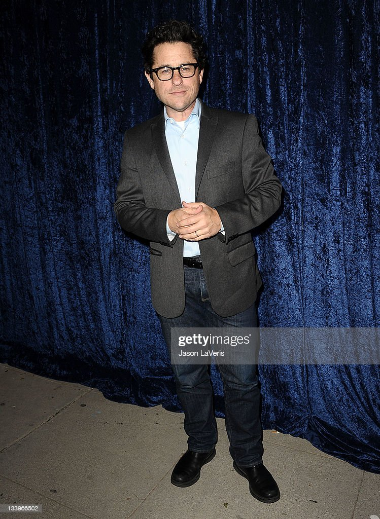 J. J. Abrams attends the 'Super 8' blu-ray and DVD release party at AMPAS Samuel Goldwyn Theater on November 22, 2011 in Beverly Hills, California.
