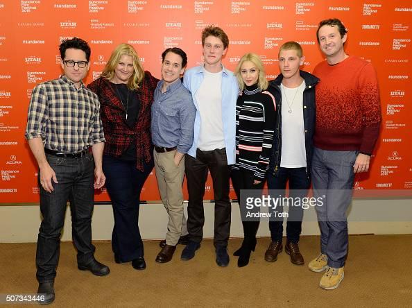JJ Abrams Bridget Carpenter TR Knight George MacKay Sarah Gadon Daniel Webber and Trevor Groth attend the '112263' Sundance premiere on January 28...