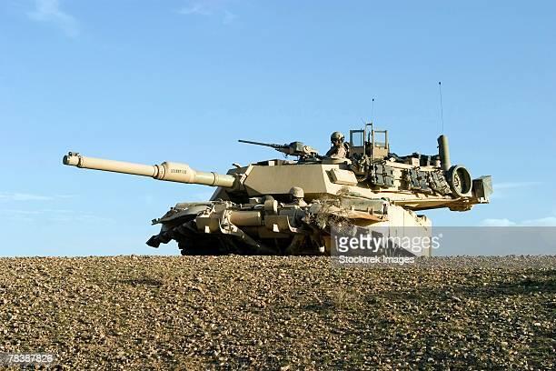 M1A1 Abrams tank.