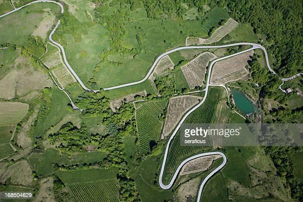 Abruzzes: Vue aérienne