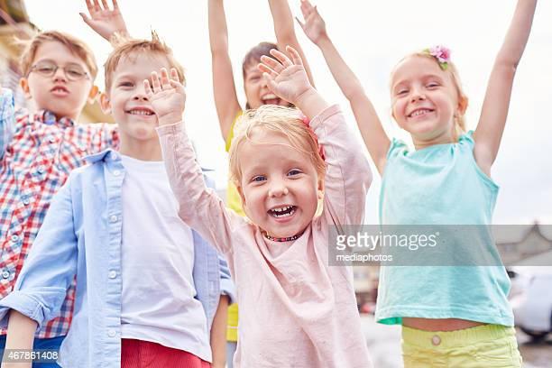 Absolutamente happy niños