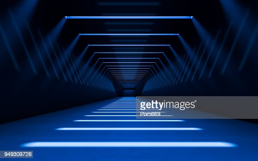 Abstract 3d corridor : Foto stock