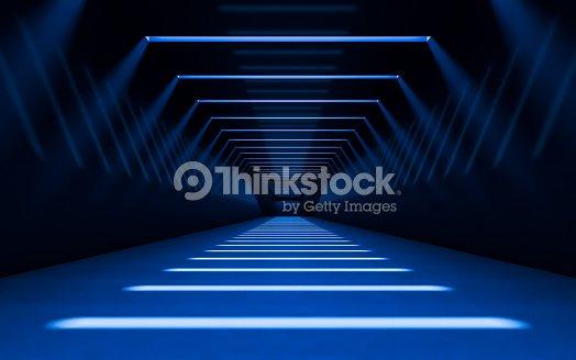 Abstract 3d corridor : Stock Photo