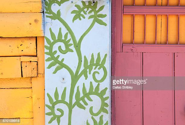 Abstract architectural detail on Isla Mujeres