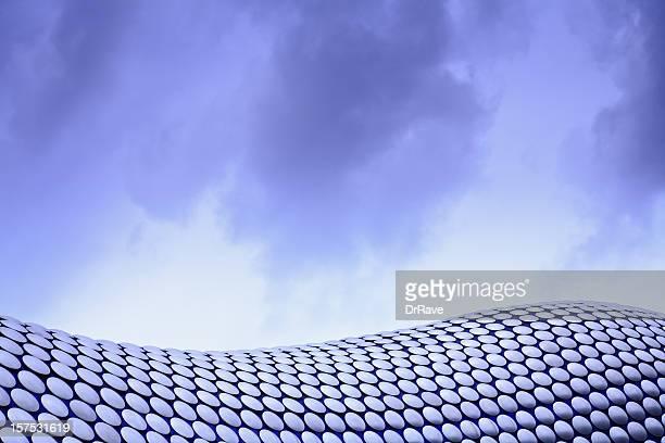 Abstrakt Architektur der Bullring Shopping Centre