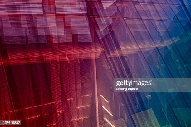 Abstrato arquitetura dinâmica