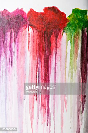 Abstract art background. Painting on canvas. Multicolor texture. : Stock Photo