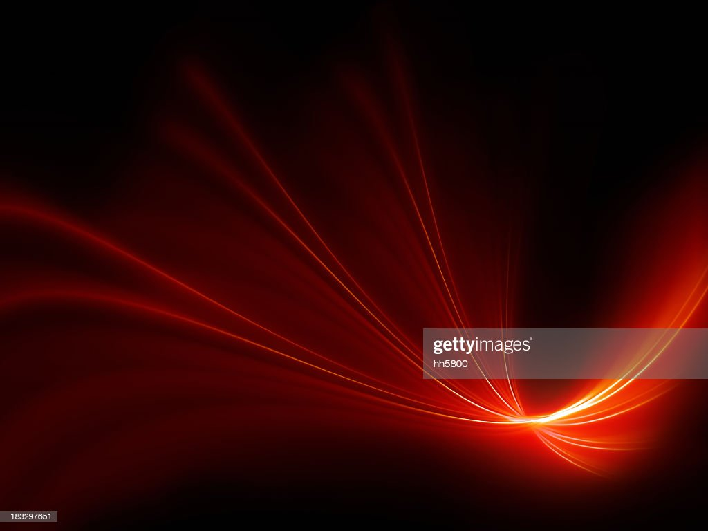 Abstract Background  Light Textured Effect-Red Ribbon-High Quality Rendering,XXXL