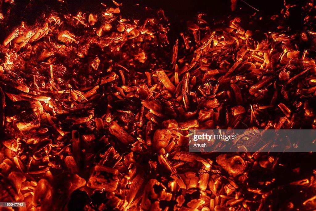 Fundo abstrato de queimadura coals : Foto de stock