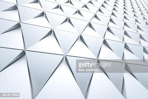 Abstract background of polygonal shape : Stock Photo