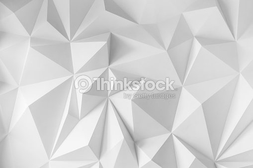 Abstract background of polygons on white background : Foto de stock