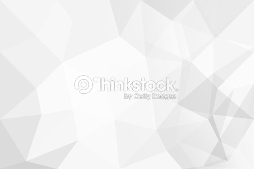 Abstract background of polygons on white background. : Foto de stock