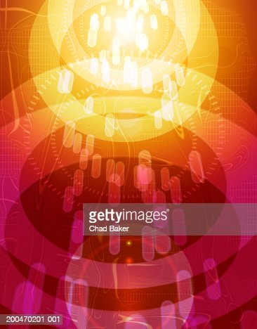 Abstract background (Digital) : Stock Photo