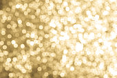 Abstract background texture Gold Glitter and elegant for Christmas.