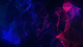Abstract Backgrounds, Backgrounds, Particle, Blue