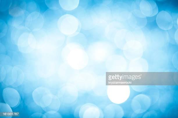 Sfondo astratto con scintilla offuscata blu
