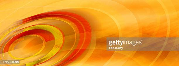 Abstract Background with Circles and Curves 3