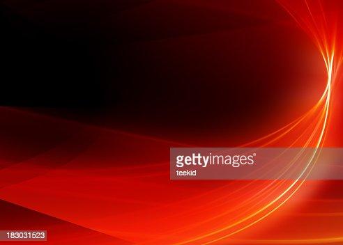 Fundo abstrato-Red Ribbon-alta qualidade de desenho