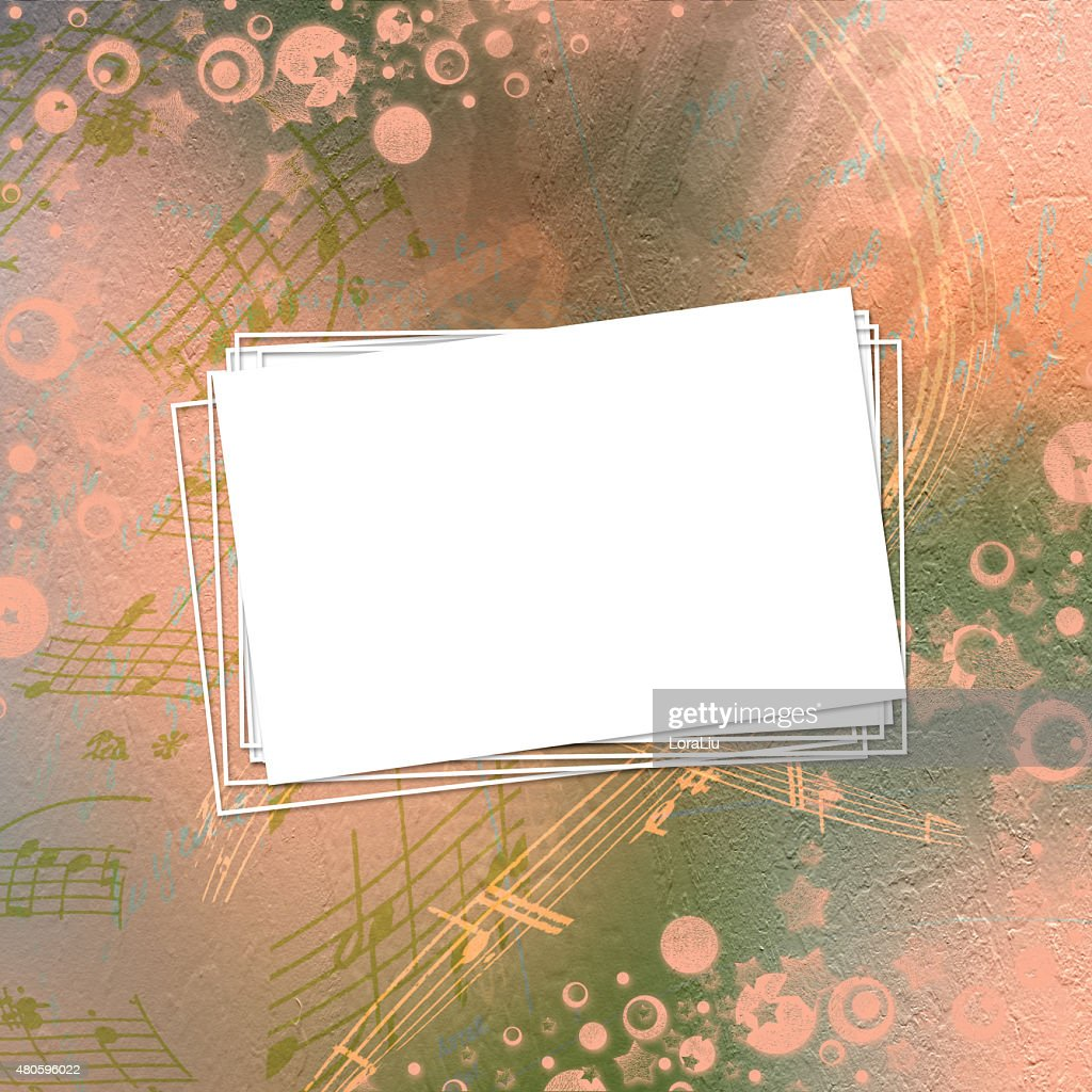 Abstract beautiful background in the style of mixed media : Stock Photo