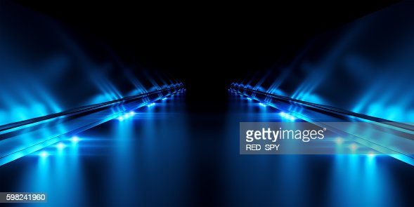 Abstract black background with illumination : Foto stock