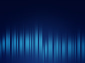 Abstract blue line gradient background