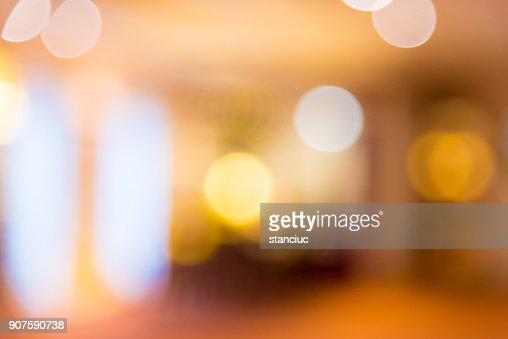 Abstract blur background of hotel lobby : Stock Photo