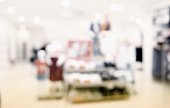 Abstract blur of shopping mall