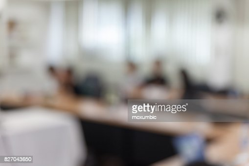 abstract blur people in meeting room : Stock Photo