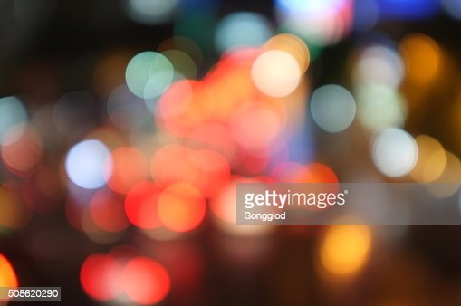 abstract bokeh light background : Stock Photo