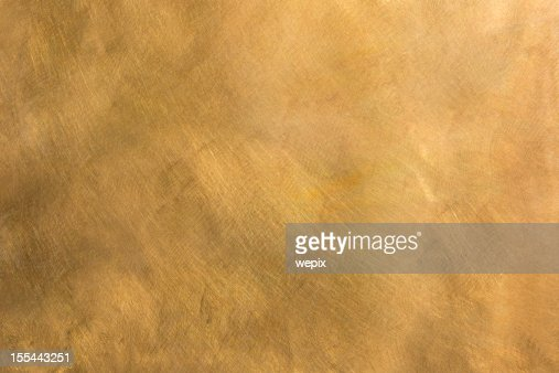 Abstract brass metal plate structured background XXL