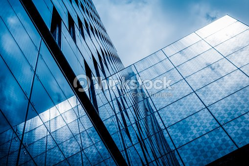 Abstract building Reflections tower building : Stock Photo