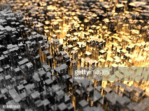 Abstract City Background : Stock Photo