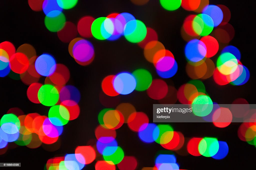 Abstract city lights : Stock Photo