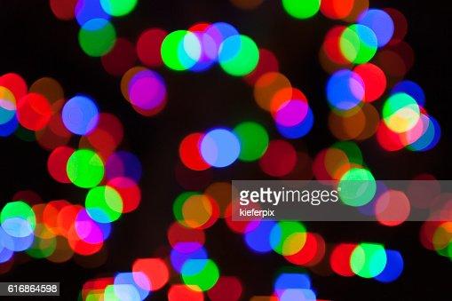 Abstract city lights : Stock Photo