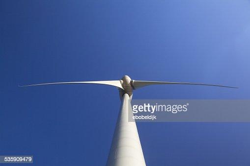 Primer plano abstracto de turbina de la producción de energía alternativa : Foto de stock