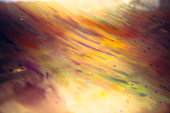 Abstract art colorful splashes painting art creative pattern with gradient bright colors yellow orange pink red green