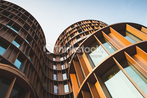 Abstract contemporary architecture photo : Stock Photo