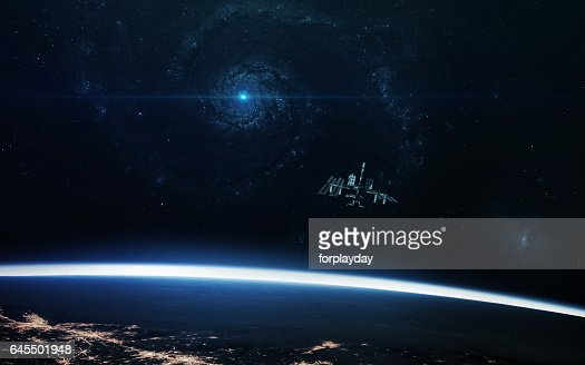 Abstract cosmos background - space. Elements of this image furnished by NASA : Stock Photo
