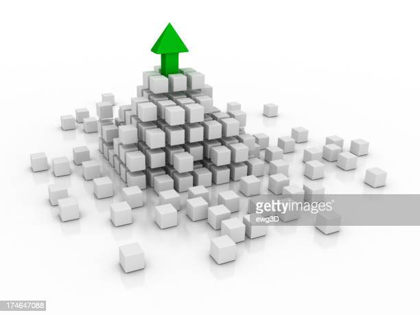 Abstract - Cube and Arrow
