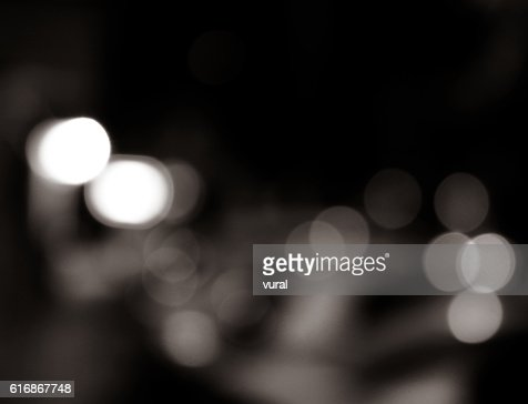Abstract Defocused City Lights Background. : Stock Photo