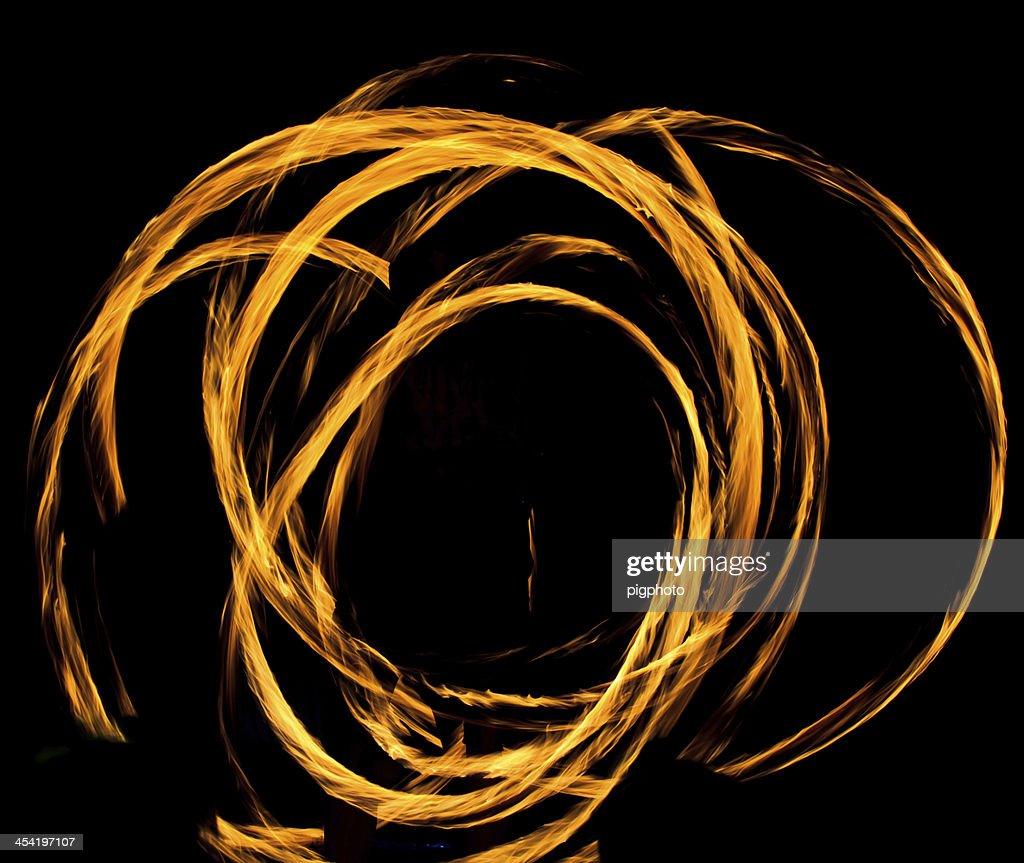 Desenho abstrato de Flaming : Foto de stock